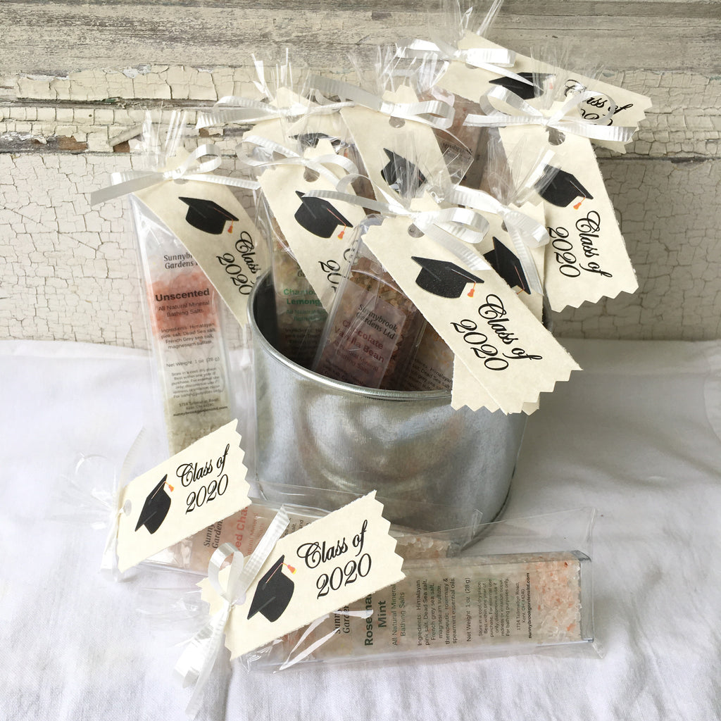 Graduation Mineral Bathing Salt Party Favors