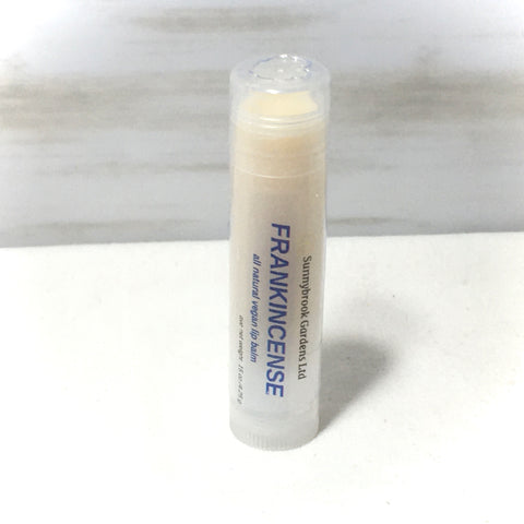 Frankincense Lip Balm, all natural, vegan friendly