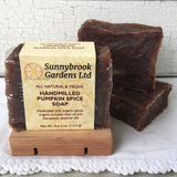 Our Cedar Wood Soap Dishes are handcrafted especially for our soaps!