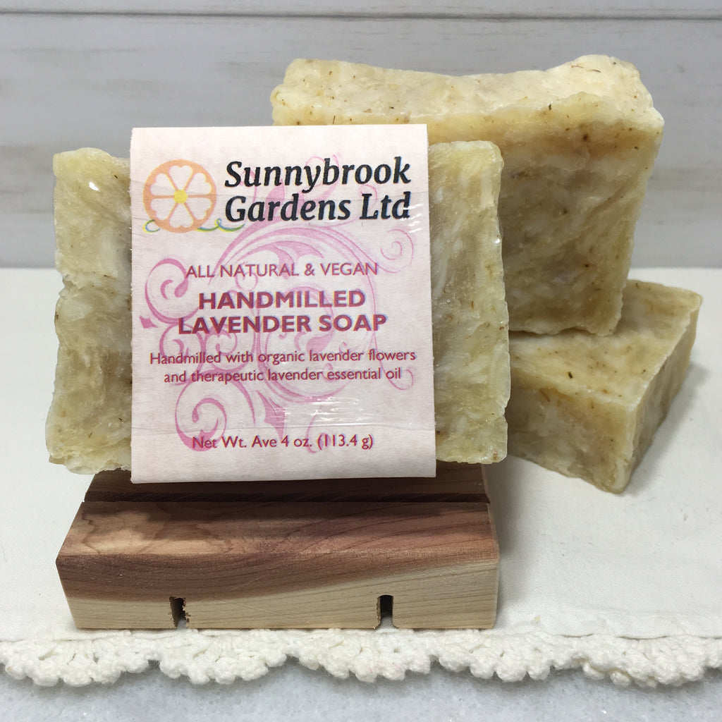 Lavender Hand-milled Soap, handcrafted, all natural and vegan friendly