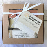 Enjoy our Small Gift Box in our White Fresh Air (Unscented) Collection