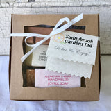 Enjoy our Small Gift Box in our Pink Flower Garden Collection