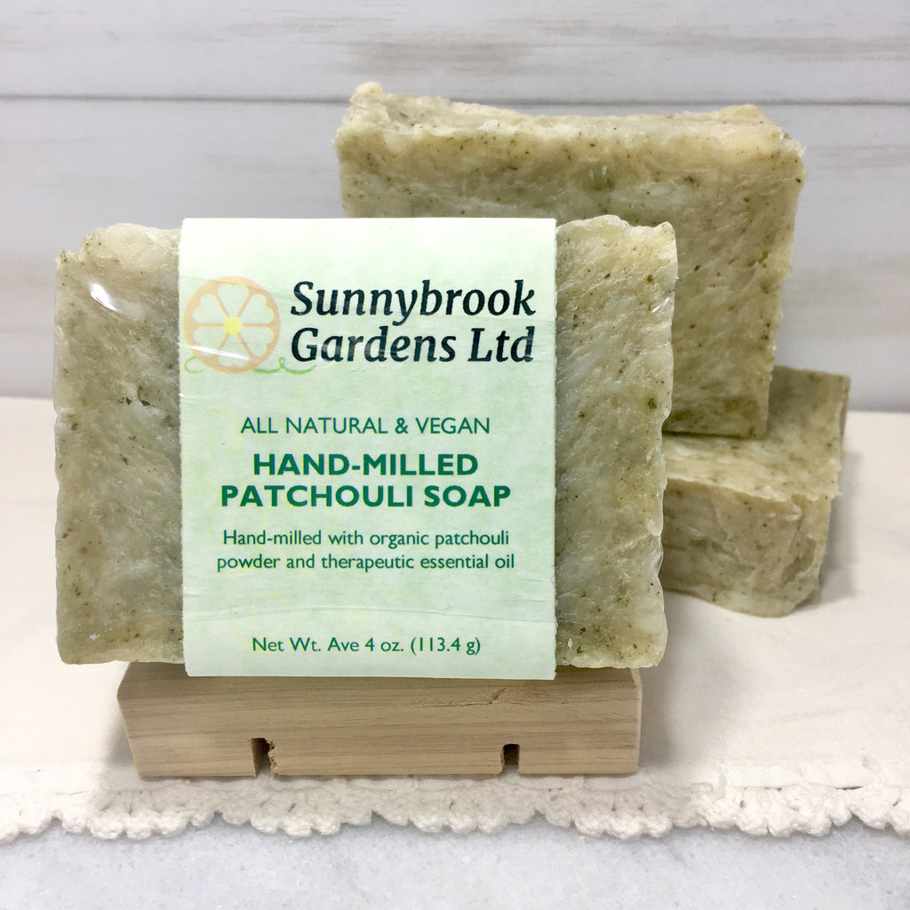 Hand-milled Patchouli Soap