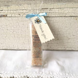 All Natural Light Blue Frankincense & Myrrh Mineral Bathing Salt Thank You Shower and Party Favors