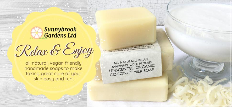 Relax and Enjoy all natural, vegan friendly soaps that are good for your skin!