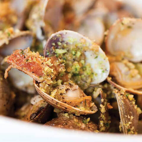 Lemon Pepper Clams