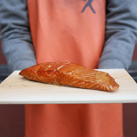 Alderwood Smoked Wild King Salmon - Traditional