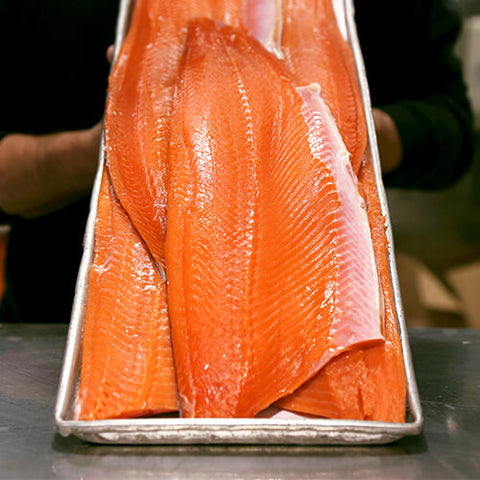 Coho Salmon Fillet - Previously Frozen