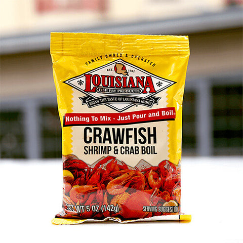Louisiana Crawfish, Shrimp & Crab Boil