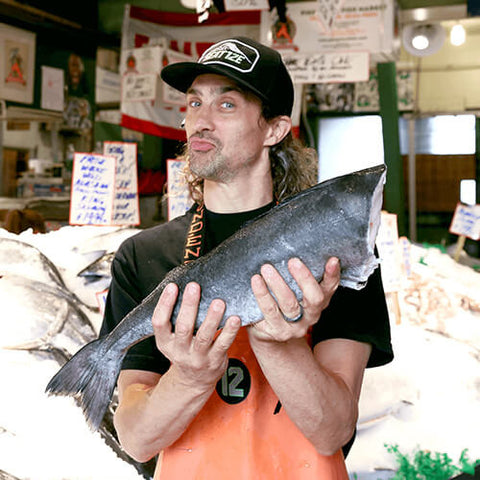 Black Cod (Sablefish) - Whole Fish, Fresh