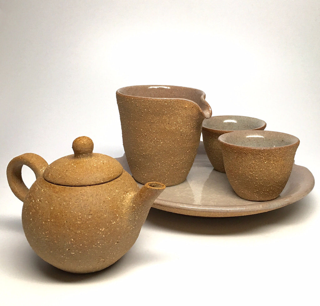 Sand Glaze Connoisseur Tea Set