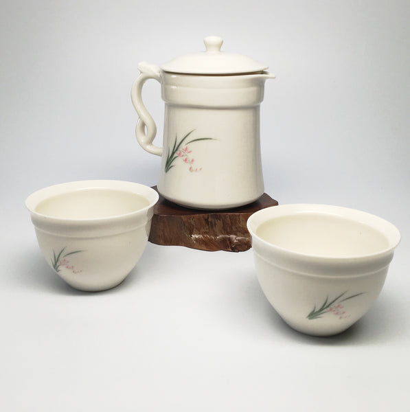 Pitcher Two cup teaset-