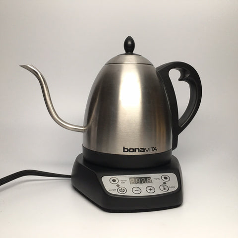 Adjustable Temperature Kettle-curved pouring spout