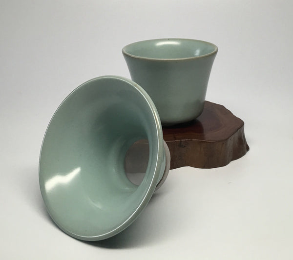 Celadon Tea Strainer Set