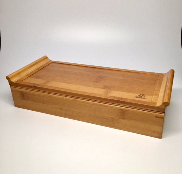TEA TRAY WITH SERVING TRAY-     Year end Special!