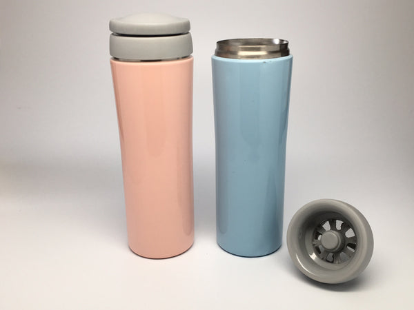 Stainless Steel Infuser Travel Mugs
