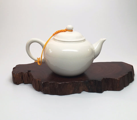 Small White Porcelain Tea Pot