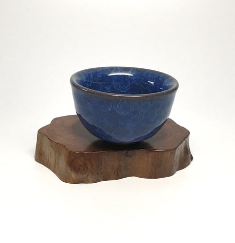Blue Mineral Tea Cup