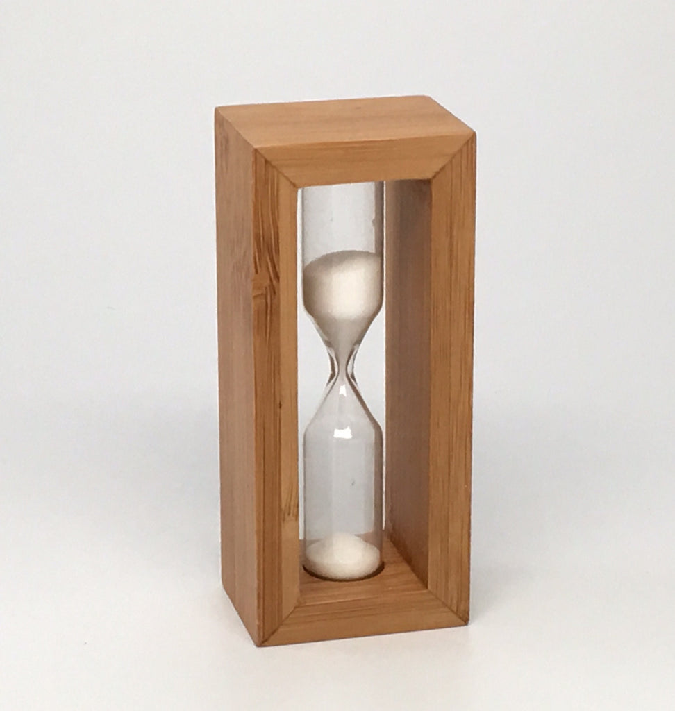 Bamboo Steeping Timer