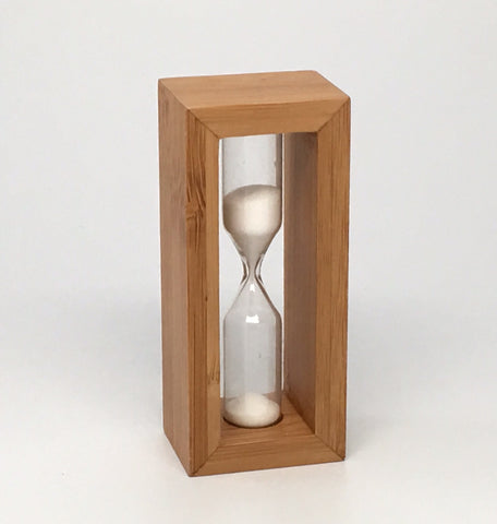 Bamboo 1 minute Steeping Timer