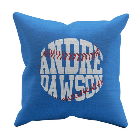 Throw Pillow Blue