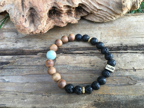 Be Brave Essential Oil Bracelet by LavHa