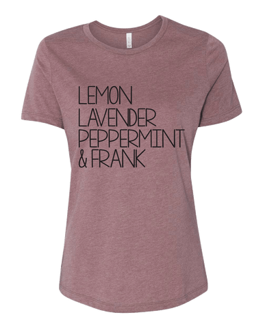 LLP&F Tee- Heather Mauve