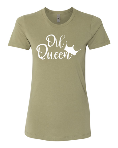 Oil Queen T-Shirt (4 Colors)
