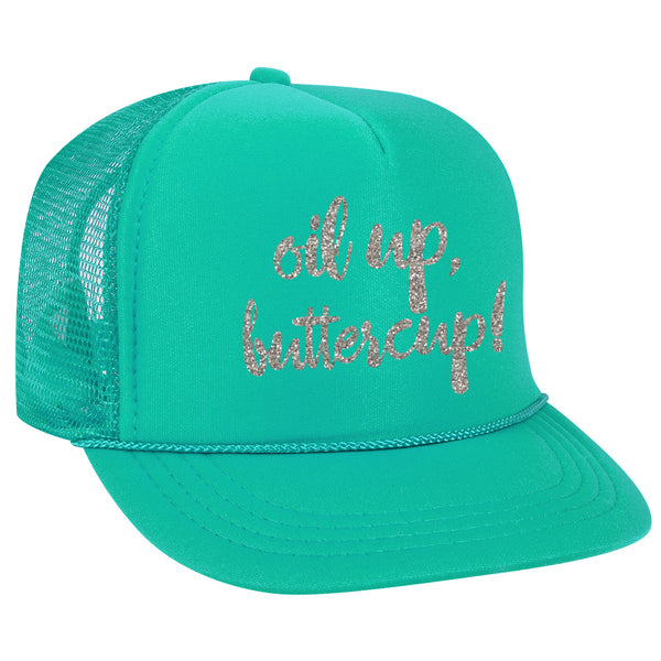 Oil Up Buttercup - Trucker Hat (2 Colors)