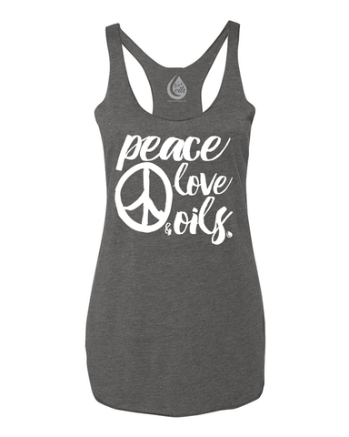 Peace Love & Oils - Tank Top