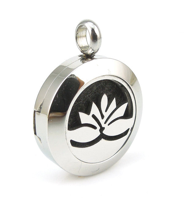 Lotus Flower Diffuser Necklace For Love And Oils