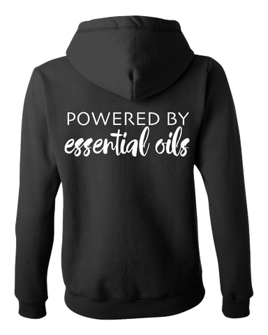 Powered By Essential Oils Hooded Sweatshirt