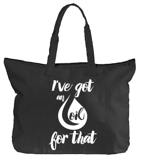 Oil Tote - Black