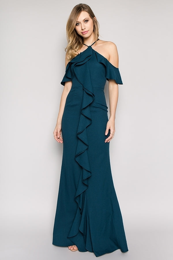 IVAELLE HUNTER GOWN