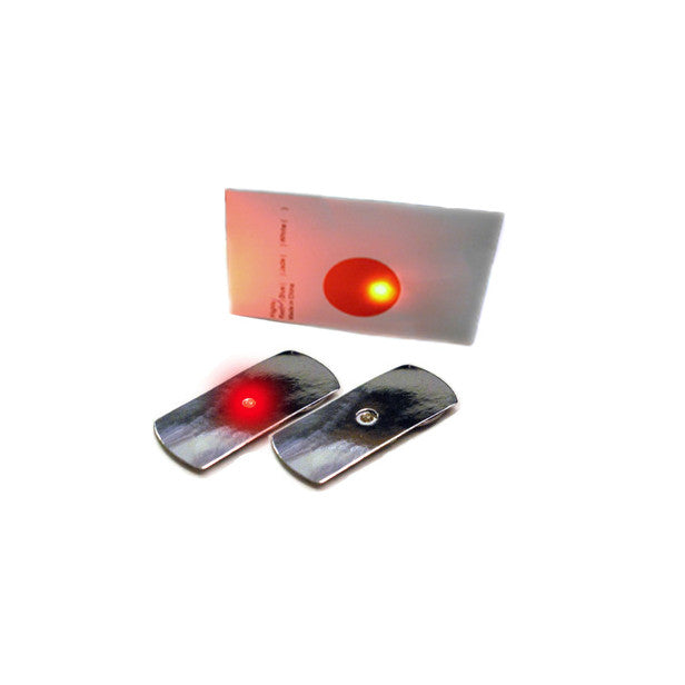 Flashing Red LED Lights Insert for Pocketbands