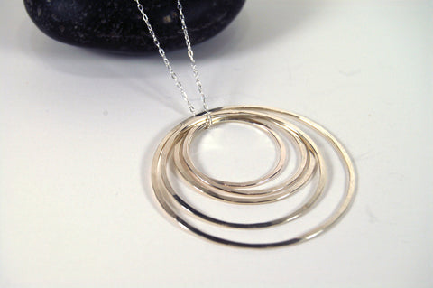 Five Ring Pendant