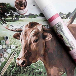 Load image into Gallery viewer, Lucy Longhorn Kit | Pink Picasso Kit