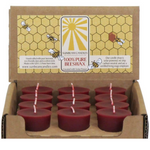 Load image into Gallery viewer, Beeswax Votives | Sunbeam Candles