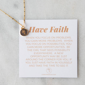 Cross Intentions Necklace | Lenny & Eva
