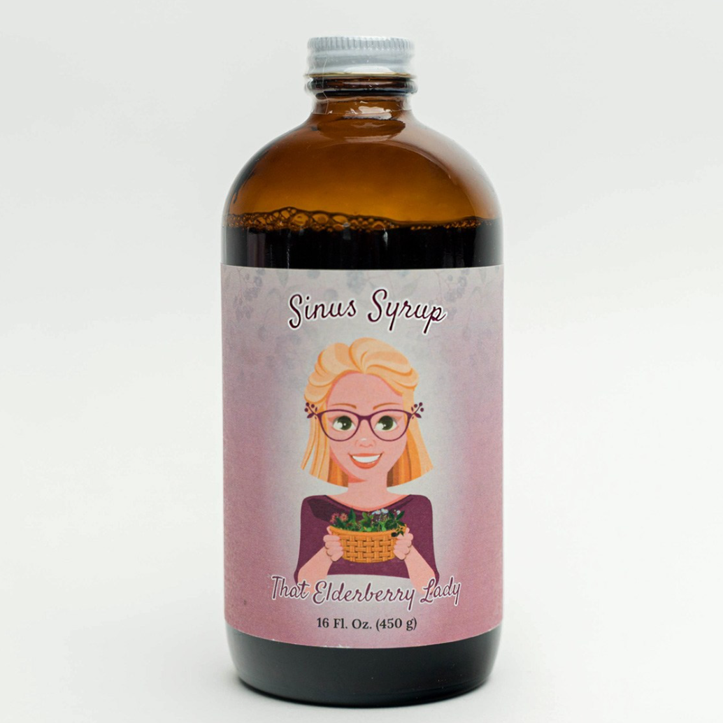 Sinus Syrup | That Elderberry Lady