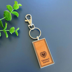 Load image into Gallery viewer, Key Chain | Emerald & Clay