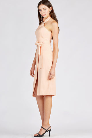 Wrap Dress with Pencil Skirt