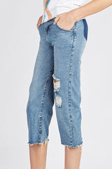 Denim Destroyed Jeans Pant