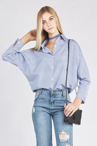 Women's Oversized Boyfriend Shirt