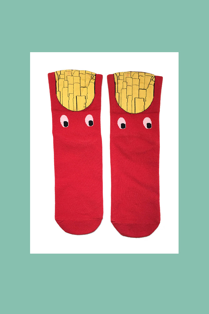 French Fries|Fun Socks