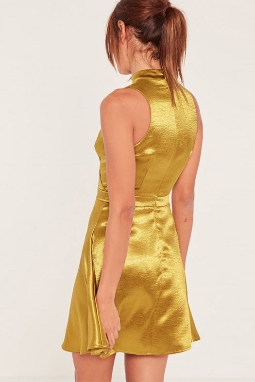 Golden Formal Dress