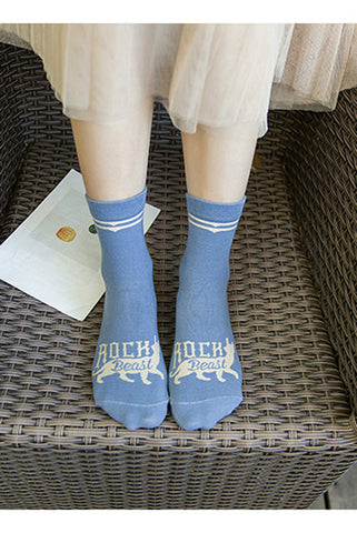 4-Pack College Style Socks