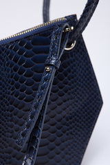 Double-X Ring Serpentine Handbag