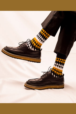 Zigzag Socks|Gift for Him