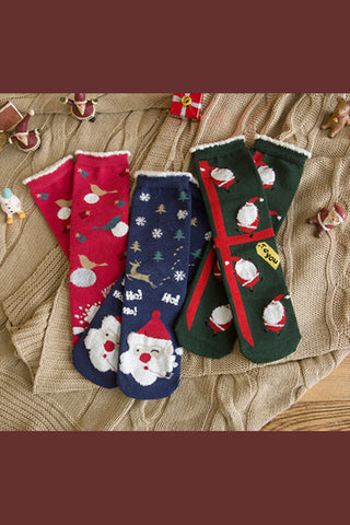 3-Pack Christmas Socks